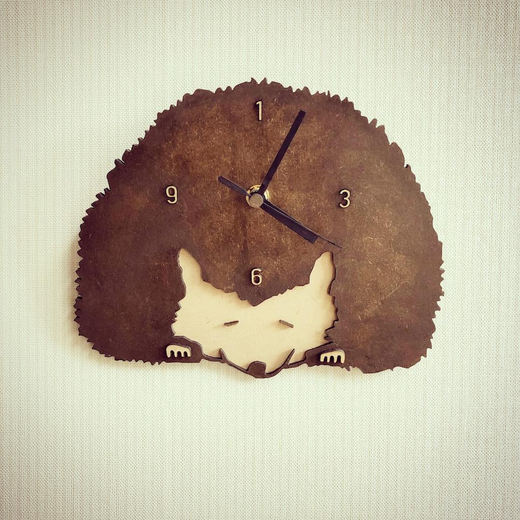 ハリネズミの時計